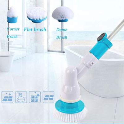 360 Spin Scrubber Elektrisch Reinigungsbürste 3 Bürste Reinigung Turbo Scrub