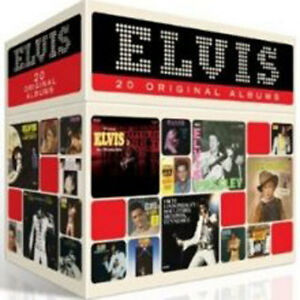 The Perfect Elvis Presley Collection 20 Original Albums NEW CD BOX SET