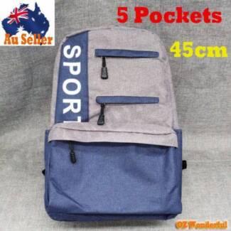 Boys Mens Womens Backpack School Bag Travel Satchel Laptop Bag