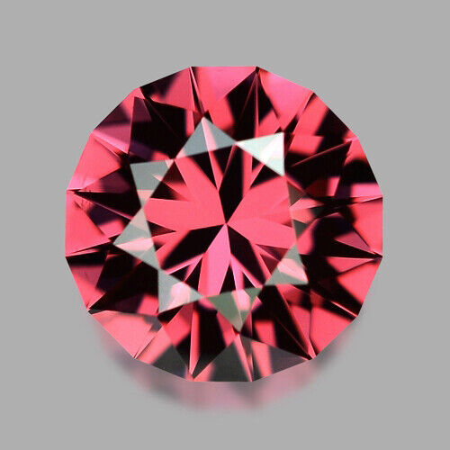 1.33CTS CUSTOM ROUND CUT NATURAL FRENCH RASPBERRY SPINEL VIDEO IN DESCRIPTION