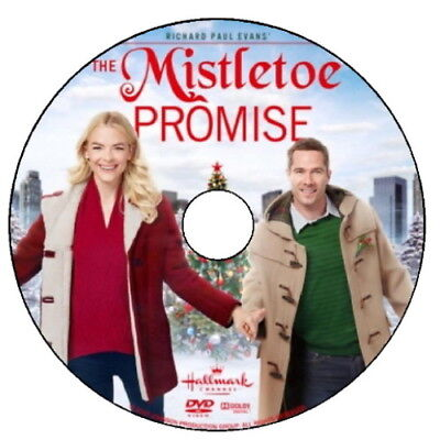 THE MISTLETOE PROMISE DVD 2016 HALLMARK MOVIE (case with no artwork)
