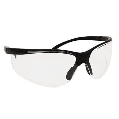 Caldwell Adjustable Pro Range Glasses with Clear Lenses and Black Frame for (Glasses With Plastic Frames And Clear Lenses)