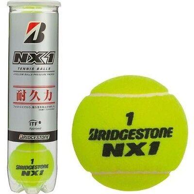 Bridgestone Japan Tennis Ball 4 Balls NX1 ITF Official