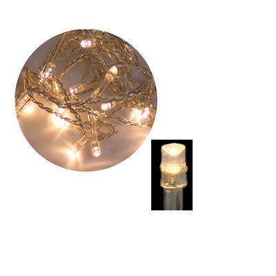 LED Lichterkette 500 LED warmweiss 50m Weihnachten Kette Licht Innen Außen 500 Led-licht