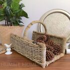 Wicker Decorative Baskets with Handle