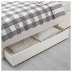 IKEA bed storage boxes