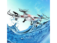 Waterproof RC Quadcopter GPTOYS H2O Aviax 2.4G 4CH 6-Axis Gyro 3D Drone Headless