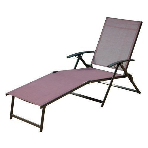 Sling Chaise Lounge Ebay