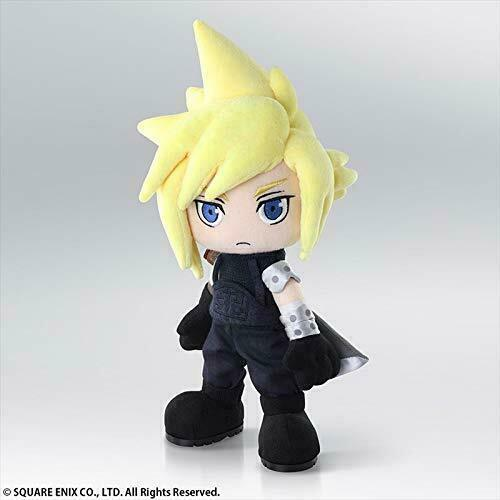 Final Fantasy VII: Cloud Strife Action Doll Plush