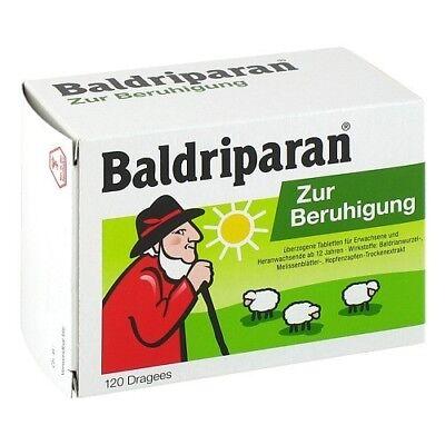 BALDRIPARAN Zur Beruhigung überzogene Tabletten 120St 10124803
