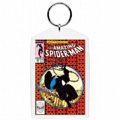 Marvel Comic Book Amazing Spiderman #300  Venom Cover Keychain