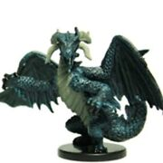 D&D Mini Black Dragon