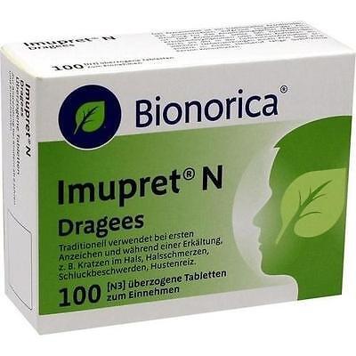 IMUPRET N Dragees 100St Überzogene Tabletten PZN 5501617 online kaufen