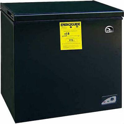 RCA Igloo 5.1 cu ft Chest Freezer, Black Energy Saving Compa