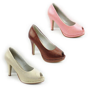 NEW-WOMENS-LADIES-PLATFORM-MID-HIGH-HEEL-PEEP-TOE-COURT-SHOES-SANDALS-SIZE-3-8