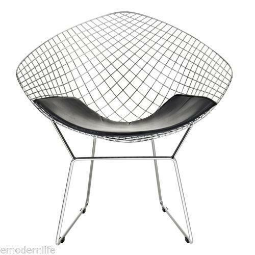 bertoia diamond chair ebay. Black Bedroom Furniture Sets. Home Design Ideas