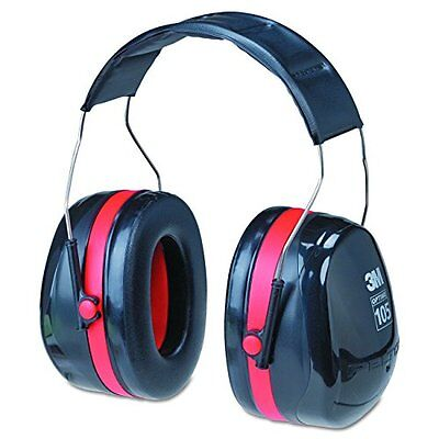 Peltor Optime 105 Over Head Earmuff Ear Protectors Hearing Protection Nrr 30 Db
