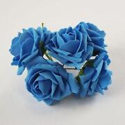 Teal Foam Roses