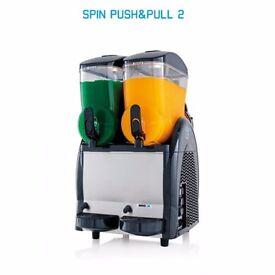SPIN slush machine 2x12ltr SPIN /slush machine 2x12ltr Leasing/ £9.02 per week