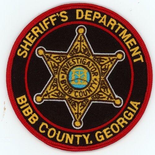 BIBB COUNTY SHERIFF INVESTIGATOR GEORGIA GA PATCH POLICE