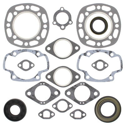 Winderosa Complete Gasket Kit w/ Oil Seals 711049