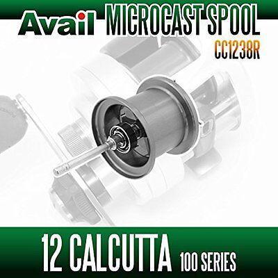 <Avail> 12 CALCUTTA 100 Series - Avail Microcast Spool CC1238R - GUNMETAL