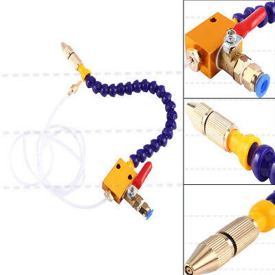 High Quality Mist Coolant Spray System Lathe Milling Machine Fit 8mm Air Pipe