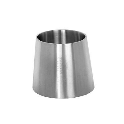 Sanitary Stainless Steel Eccentric Reducer Weld End Fitting 42.5 304