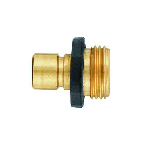Orbit Brass Male Quick Connect Garden Hose End Connector - f