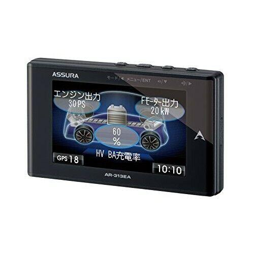 CELLSTAR ASSURA AR-313E 3.2inch LCD OBDII compatible GPS radar detector Japanese