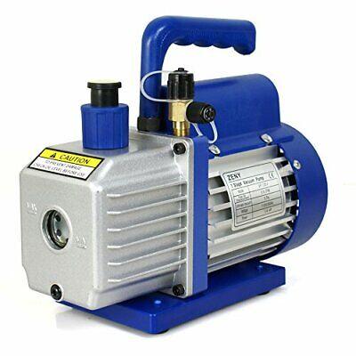 Vacuum Pump Rotary Vane Deep Hvac Ac Air Tool R410a R134 Free Oil 35cfm 14hp