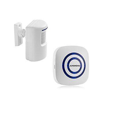 Long Range Wireless Driveway Alarm Kit 1 Battery Operated Infrared Motion Sensor