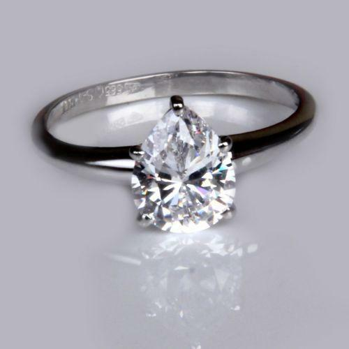 Real diamond wedding rings ebay for Real wedding ring