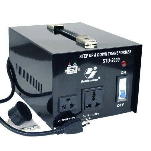 Goldsource STU 2000w Step Up or Down Transformer 110v/220v