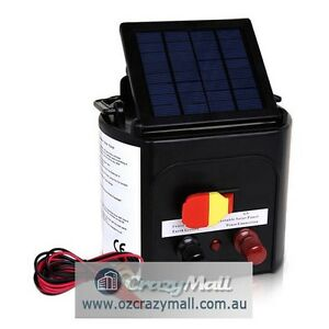 3km Solar Power Animal Electric Fence Charger Sydney City Inner Sydney Preview