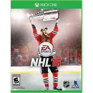 NHL 16 for Xbox One for sale.
