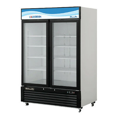 Blue Air Bkgm49 Refrigerator Glass Door Merchandiser Swing Door True Commercial