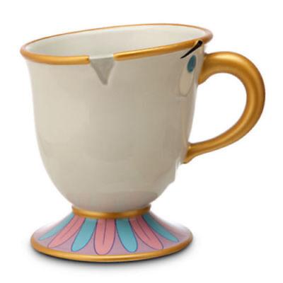 New  Disney Exclusive Chip Beauty   Beast Ceramic Mug Cup Resort Store