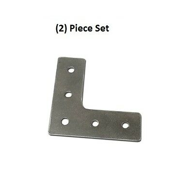 2x Aluminum 90 Degree Joining Plate L Shape External Bracket On 8020