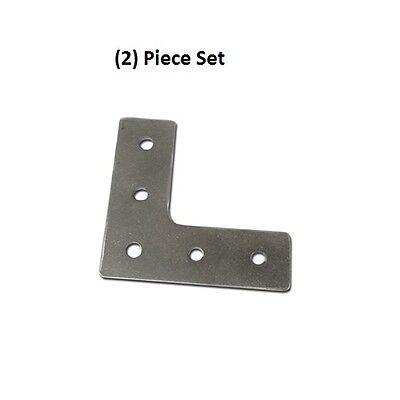 2x Aluminum 90 Degree Joining Plate L Shape External Bracket On 8020