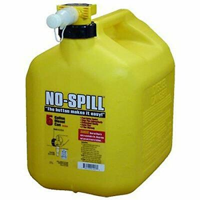 No-spill 1457 Diesel Fuel Can Yellow