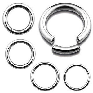 Surgical-Steel-Seamless-Segment-Ring-Hoop-Lip-Nose-Ear-Eyebrow-Belly
