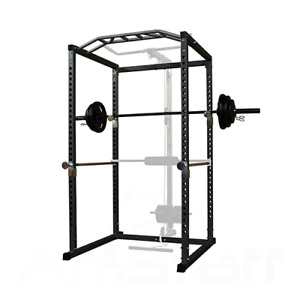 Squat/Power Rack and Weight Set