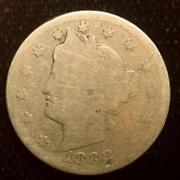 1888 V Nickel