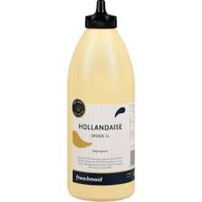 HOLLANDAISE SAUCE 1L BY FRENCH MAID IN HANDY SQUIRT BOTTLE BB NOV 21 - FREE POST