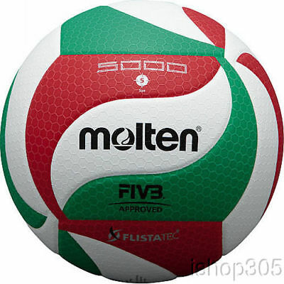 100 % Authentic Molten V5M5000 Volleyball Official FIVB Approved Ball FLISTATEC