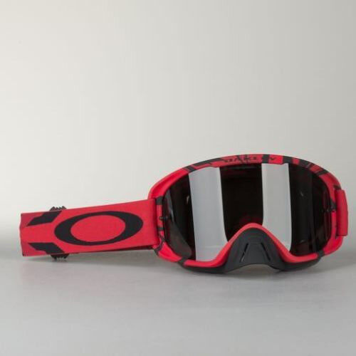 New Adult Oakley O Frame 2 Tear Off Goggles Motocross Enduro BLOOD ...