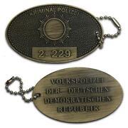 Polizeimarke Dienstmarke Kripomarke
