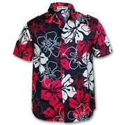 Mens Floral Short Sleeve Shirt