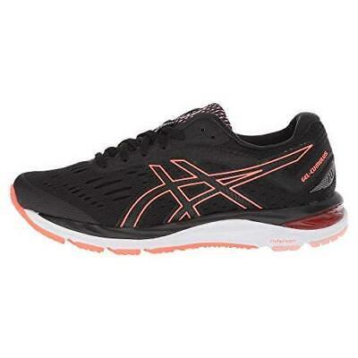 Asics Women's Gel-Cumulus 20 Shoes NEW AUTHENTIC Black/Coral 1012A008-002